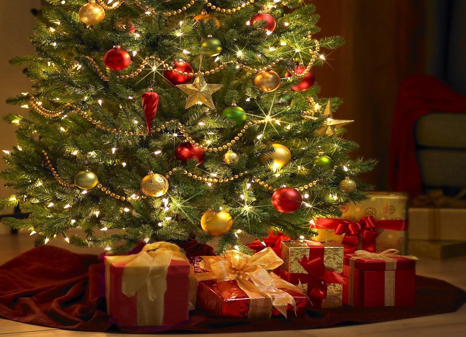 El árbol de Navidad de las sorpresas.