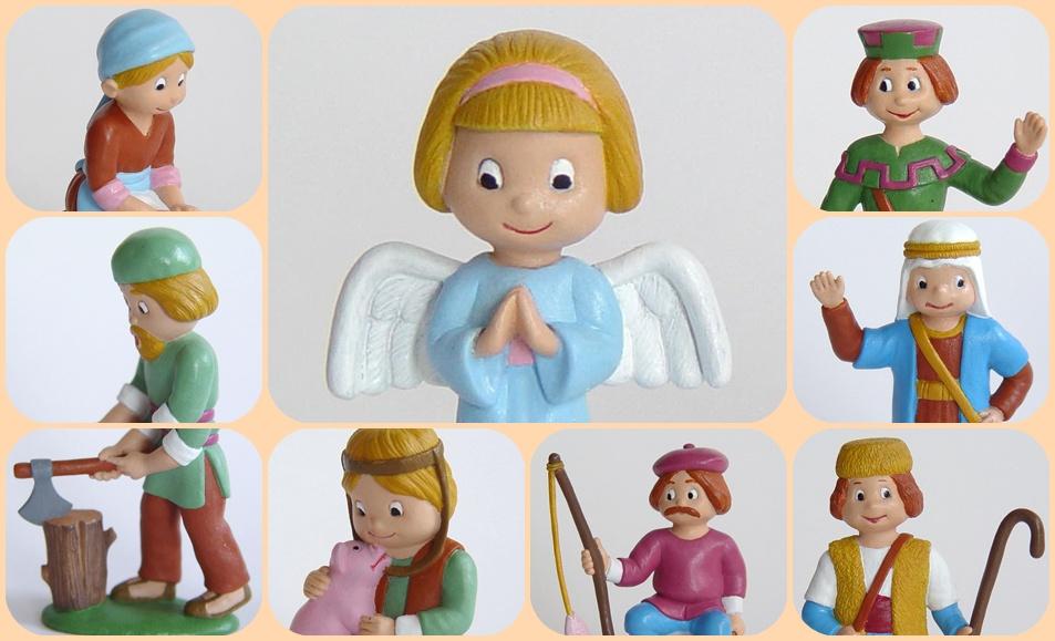 Belen infantil de 31 piezas 4035 mam en apuros - Figuras belen infantil ...