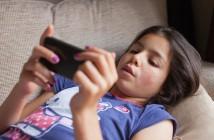 uso de tablets y móviles en niños