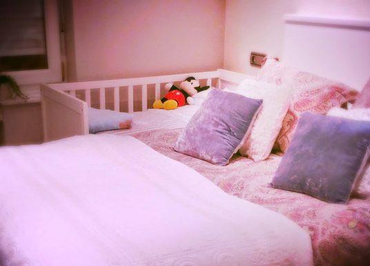 Cuna de colecho. Elige dormir con tu bebé.